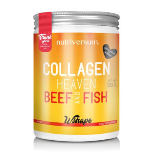 Nutriversum Wshape Collagen Heaven Beef&Fish mangó italpor - 300g