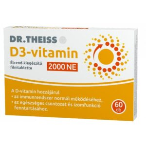 Dr. Theiss D3-vitamin 2000NE filmtabletta - 60db