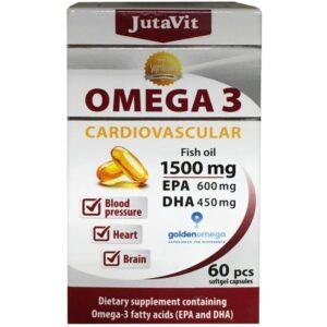 JutaVit Omega-3 Cardiovascular 1500mg kapszula - 60db