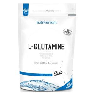 Nutriversum BASIC 100% L-glutamine - 500g