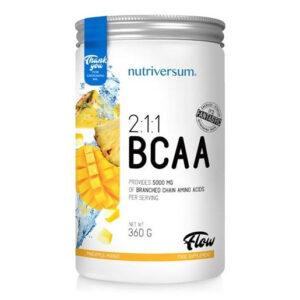 Nutriversum FLOW-2:1:1 BCAA ananász-mangó - 360g