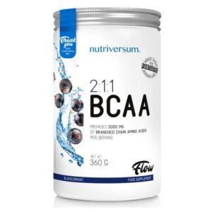 Nutriversum FLOW-2:1:1 BCAA feketeribizli - 360g