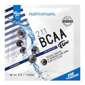 Nutriversum FLOW-2:1:1 BCAA feketeribizli - 6g