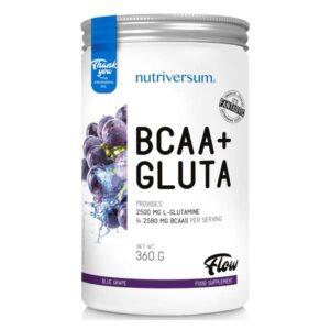 Nutriversum FLOW BCAA+GLUTA kékszőlő - 360g