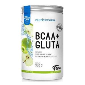 Nutriversum FLOW BCAA+GLUTA zöldalma - 360g