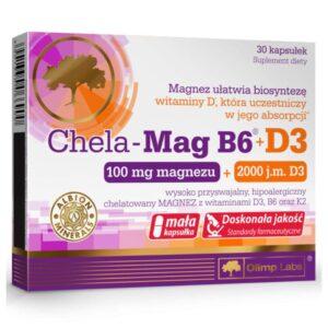 Olimp Labs Chela-Mag B6 + D3-vitamin kapszula - 30db
