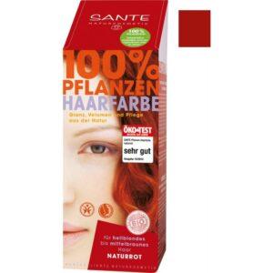 Sante Növényi hajfesték natúr vörös - 100g