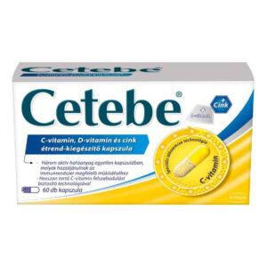 Walmark Cetebe C+D+Cink kapszula - 60db