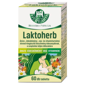 Herbária Laktoherb tabletta - 60db