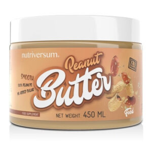 Nutriversum FOOD Peanut Butter (mogyoróvaj) - 450g