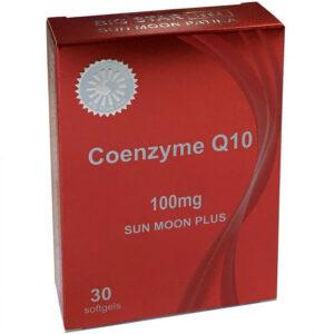 Sun Moon PLUS Coenzyme Q10 100mg gélkapszula - 30db
