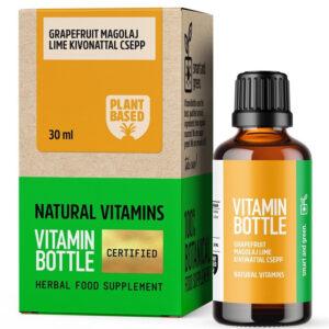 Vitamin Bottle Grapefruit magolaj Plus Lime csepp - 30ml