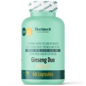 Herbiovit Ginseng Duo Energy kapszula - 60db