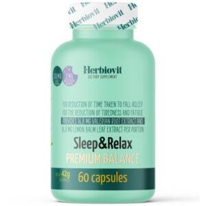 Herbiovit Sleep & Relax Premium kapszula - 60db