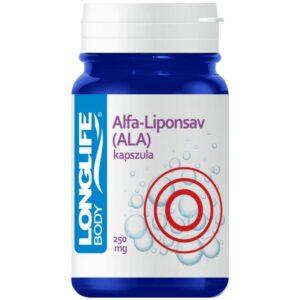 Longlife Alfa-Liponsav kapszula - 60db