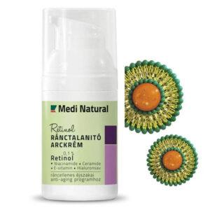 Medinatural Retinol ránctalanító arckrém - 30ml