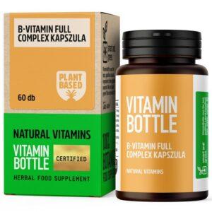 Vitamin Bottle B-Vitamin Full Complex kapszula - 60db